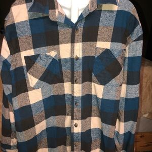 C.E.Schmidt workwear flannel heavy duty shirt  XL